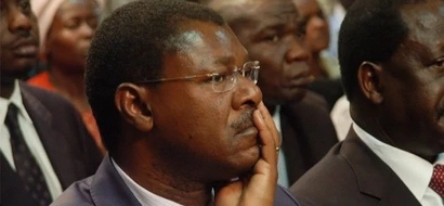 Embarrassing moment as Wetangula 'waves to trees' in Kakamega