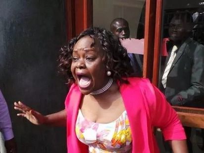 The media favours you - Millie Odhiambo tells Jubilee