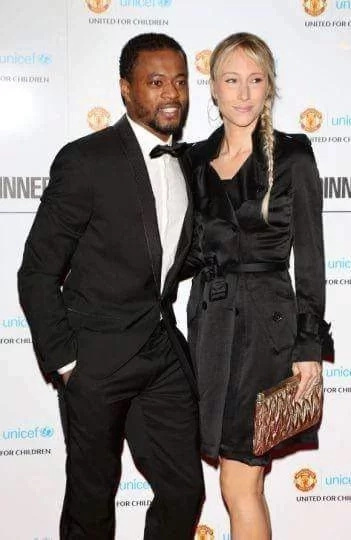 Photos of black footballers With their white wives/girlfriends