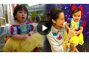 Cuteness Overload! Scarlet Snow and Baby Zia Meets for the First time!