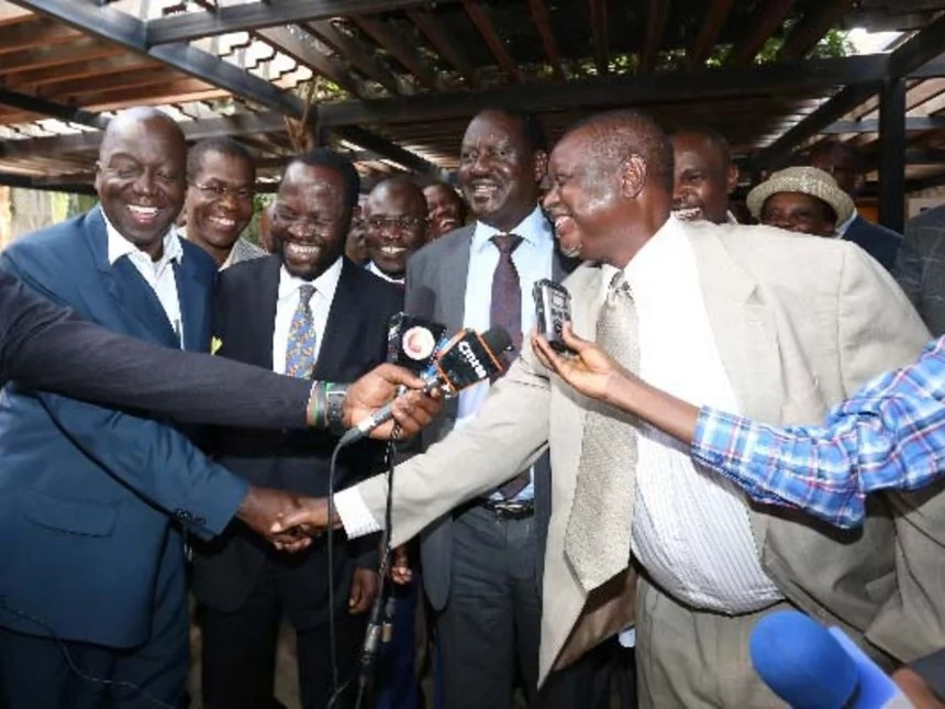 I have invested heavily in my belly, Oburu Odinga tells MP
