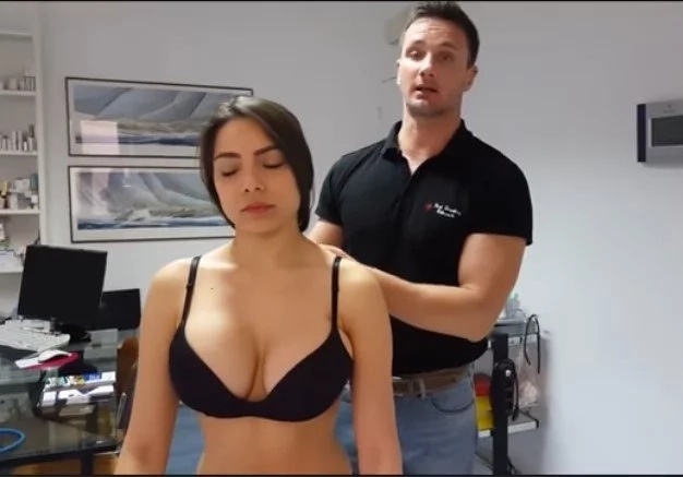 Chiropractic Is Boring. But With Sexy Model?! (VIDEO)