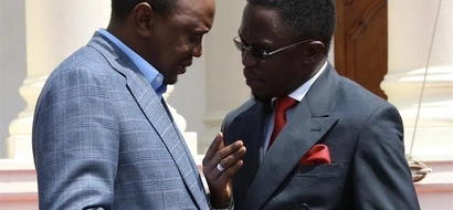 This is the major REASON why Ababu Namwamba is supporting Uhuru Kenyatta's reelection (photos)