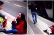 Te amo! Woman's public proposal to boyfriend goes wrong as she's left alone after he walks off