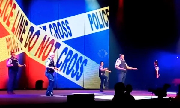 New Zealand Cops Killed The Stage With This Dance — SUPERB!