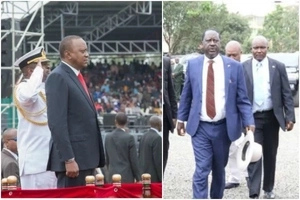 Outrage as Raila gets ignored at Madaraka day celebration
