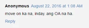 Netizens on Inday's comeback: If not OA, chill