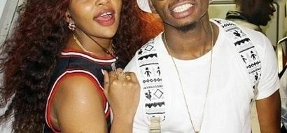 Diamond Platinumz SEXY ex-girlfriend causes excitement among Nairobi men