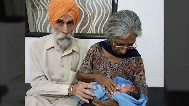 LOOK: 70 year old woman gives birth
