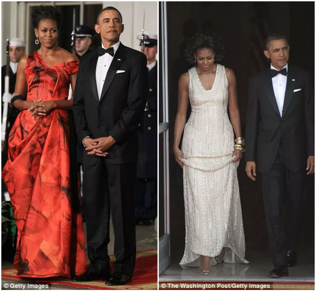 Michelle's revelation highlighted the contrasting scrutinies the former US First Couple faced