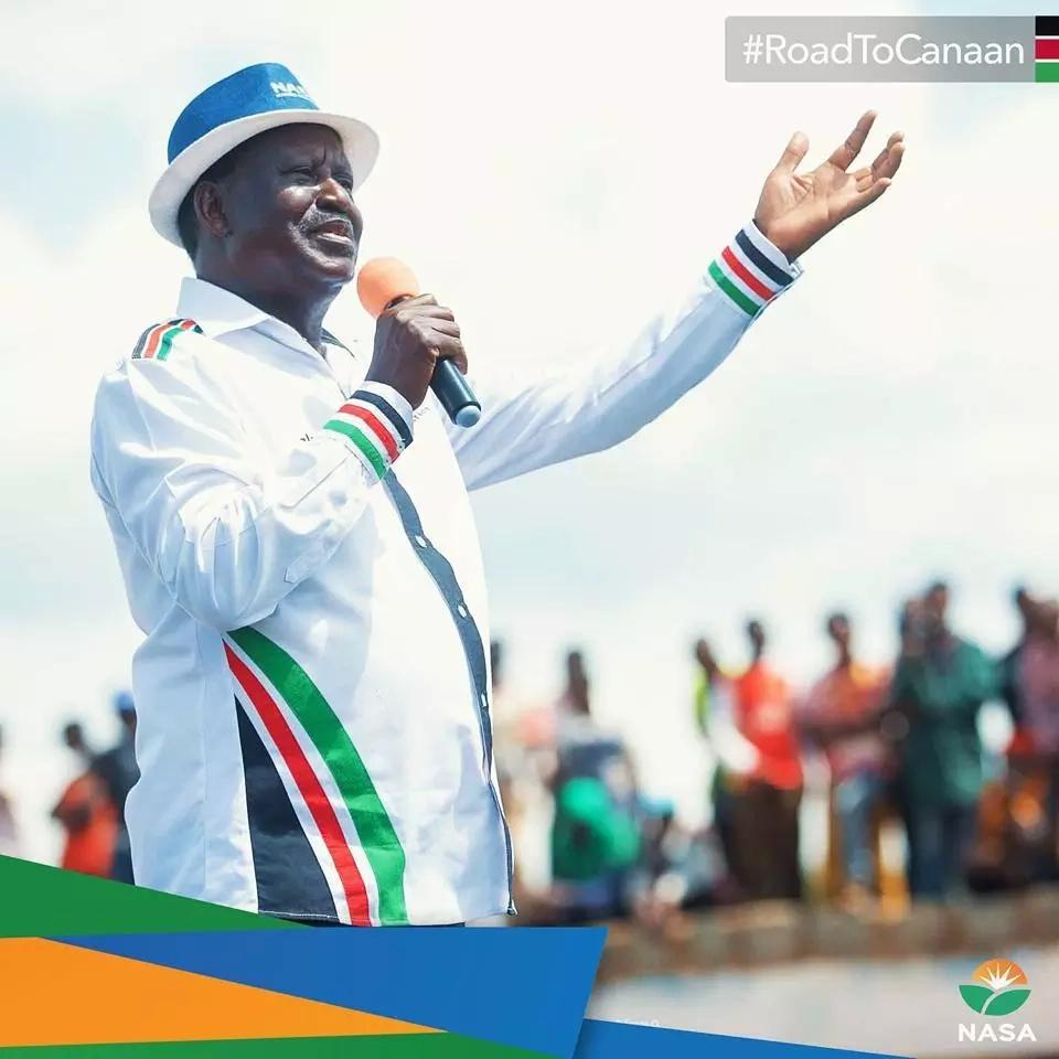 Raila apuuzilia mbali hatua ya polisi kutaja maeneo fulani kuwa hatari