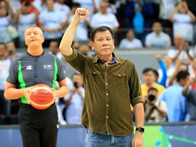 Find out what Gilas had to say after Duterte showed up on their game vs France