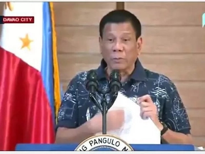 Nakakatakot! Duterte foresees another bombing by Mindanao rebels soon