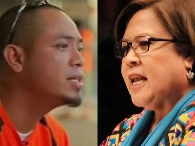 Tuta ni Duterte! Fearless De Lima says inmate Jaybee Sebastian asset of gov't