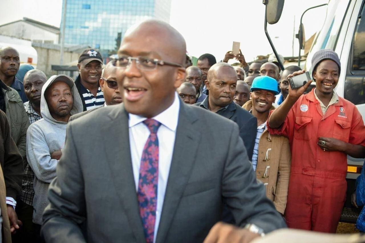 Nairobi deputy governor Polycarp Igathe resigns- cites frustrations from Governor Sonko