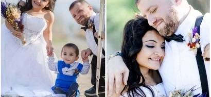 Heartwarming! This disabled couple will restore your faith in LOVE (photos)