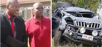 Jubilee MP aspirant and close friend to Mwai Kibaki involved in horrible road accident