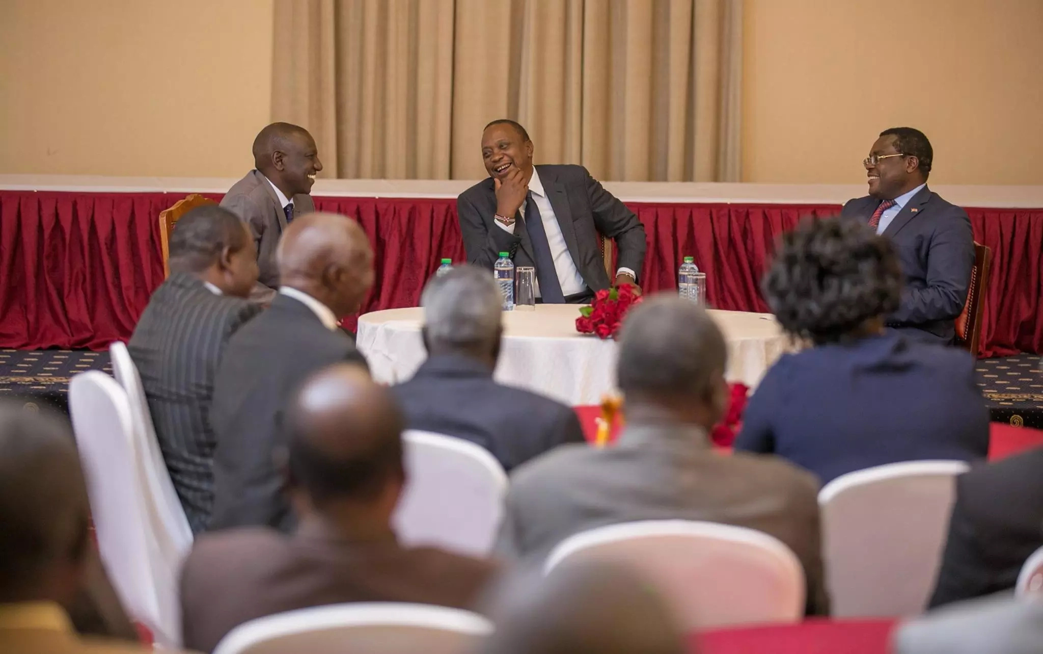 NASA leaders sneak to see Uhuru at night and we know it- Western MP claims