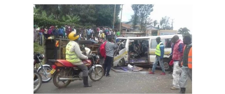 Uhuru's motorcade involved in accident in Kisii, several injured