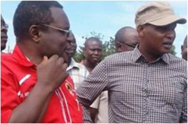 A photo of William Ruto's controvesial personal aide with Bungoma governor has people talking