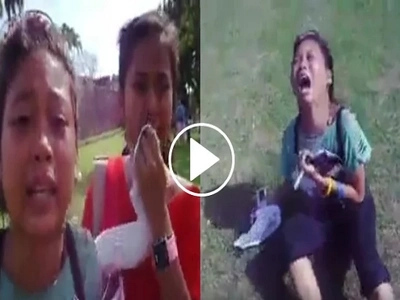 Medyo OA! Teenagers cry after meeting their idol Daniel Padilla for the first time
