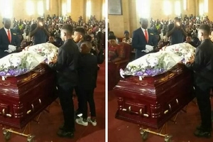 Weird 'ritual' done during Zari's ex-husband burial leaves tongues wagging(video)