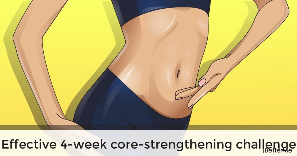 Effective 4-week core-strengthening challenge