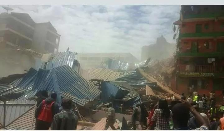 Watu kadhaa wanahofiwa kufa baada ya jengo kuporomoka Kisii