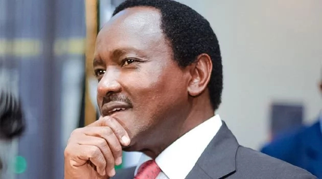 Wiper leader Kalonzo Musyoka expected back on Saturday for Nyenze's burial and son's swearing-in