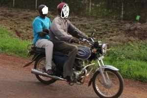 Wanted al-Shabaab finally caught riding casually on a boda boda