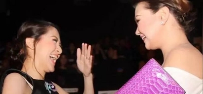"BFF goals mga mars! Legal wife Marian Rivera attends ""The Unmarried Wife"" premiere night to support Angelica Panganiban"