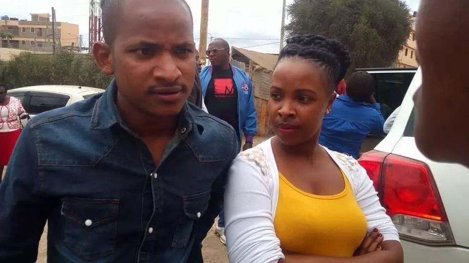 Babu Owino uses his beautiful secret weapon to gunner votes for August 8