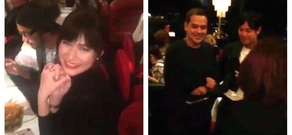 Special party sa France! John Lloyd Cruz and Bea Alonzo spotted in Paris