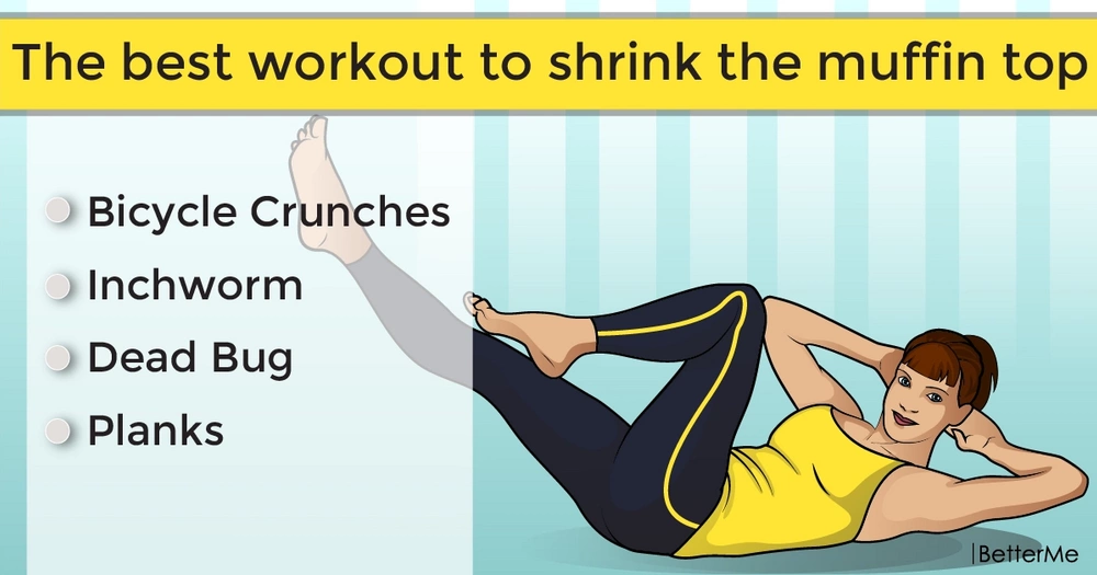The best workout to shrink the muffin top