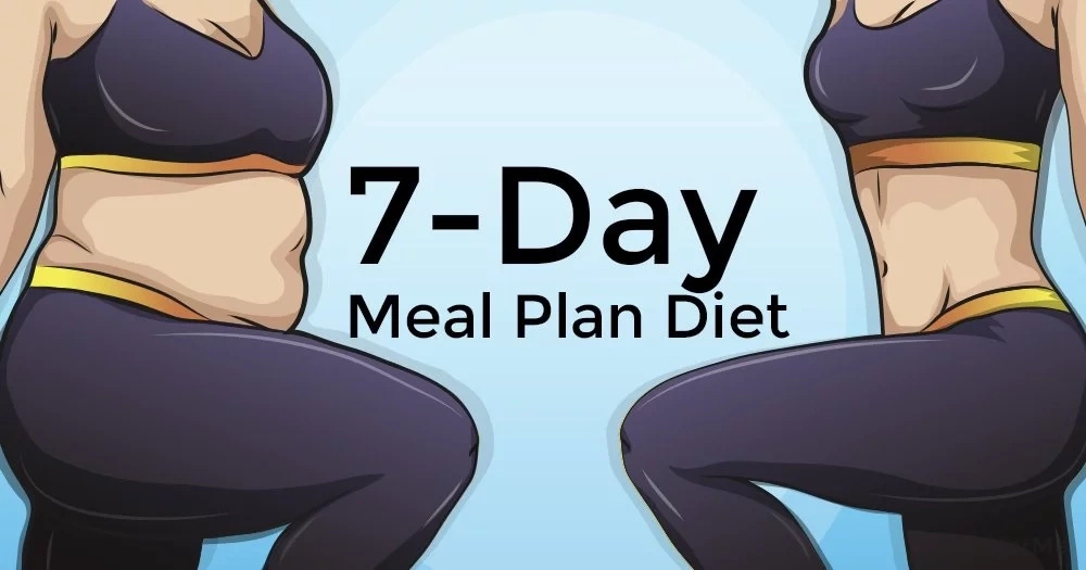 A 7-day meal plan and some weight-loss advice can help you lose up to 3 pounds