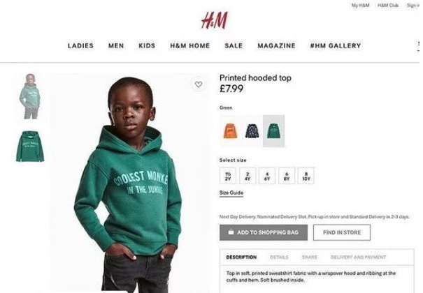 LeBron James, Diddy join criticism of H&M over