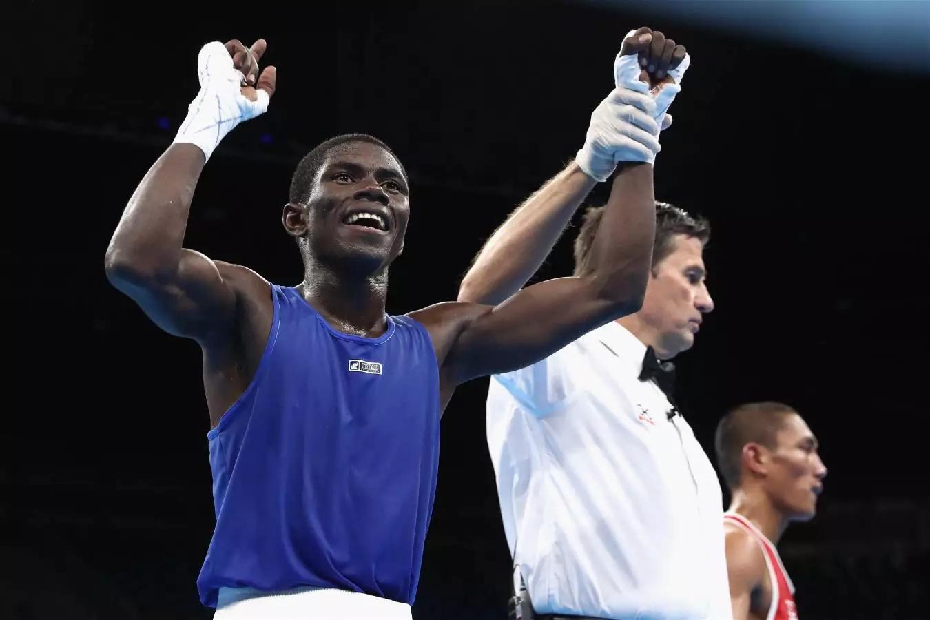 Yuberjén Martínez irá por la de oro en la final de boxeo