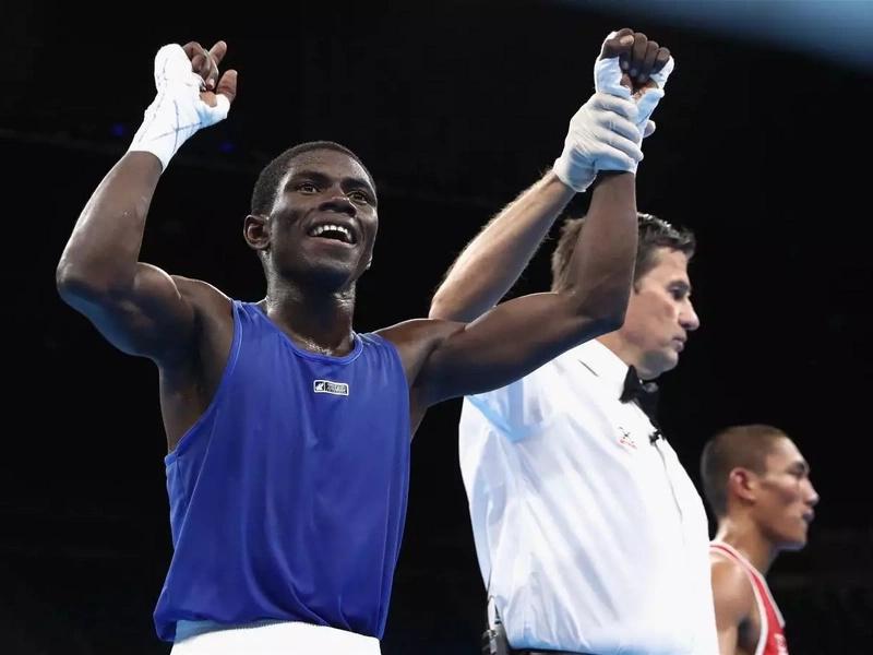 Yuberjén Martínez irá por la medalla de oro en la final de boxeo