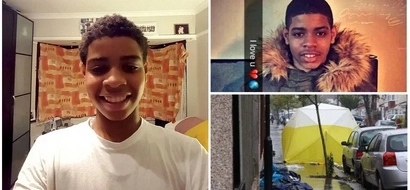 Budding engineer, 15, stabbed to death with a samurai sword as he headed home