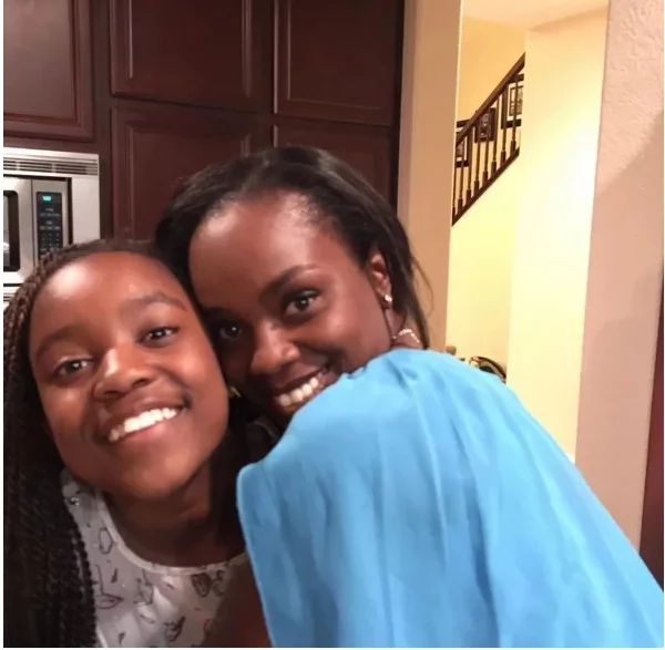 X Photos of Shaffie Weru's firstborn daughter Milan blossoming into a young woman