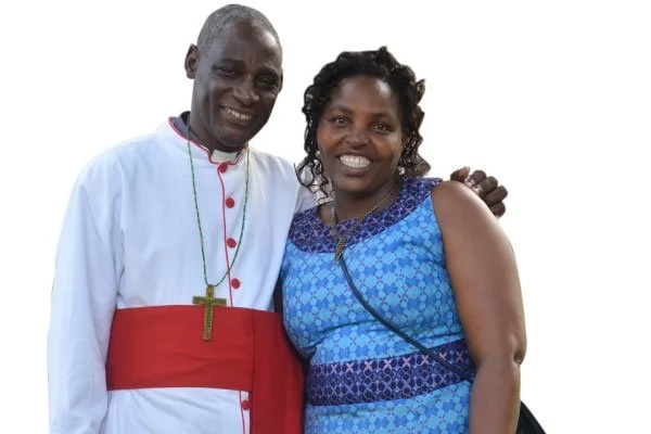 Reverend Canon Gideon Byagumisha and his wife Pamela. Photo: Daily Monitor