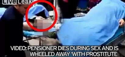 Man dies having sex, hospitalized with prostitute still attached to him (photos, video)