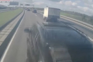 Collision Between Truck And BMW... But WOW It Is Shocking