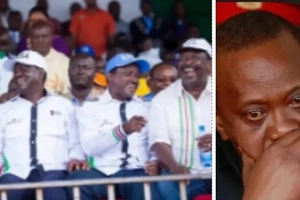 Kalonzo tears DP Ruto apart, tells Uhuru to be wary of him