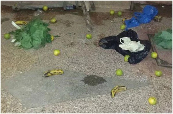 OUTRAGE as Kenyan woman TRASHES husband's cheap Christmas Present