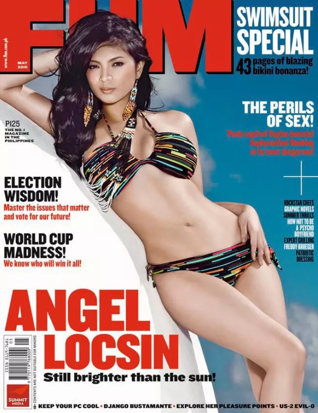 Locsin represents PH in MTV AU's sexiest nationalities list