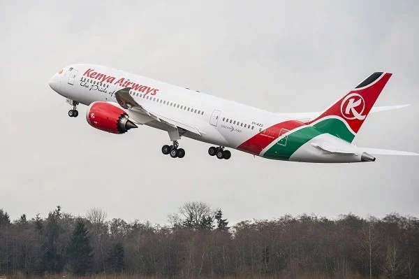 KQ flight
