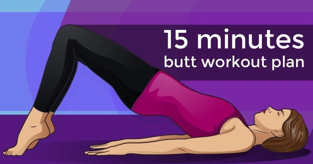 15 minutes butt workout plan