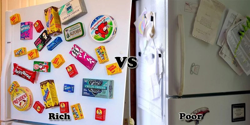 Rich vs Poor: Filipinos' battle out their refrigerators