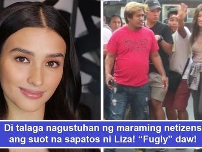 Na-bash dahil sa sapatos! Liza Soberano gets bashed for wearing 'fugly' shoes during Darna shoot